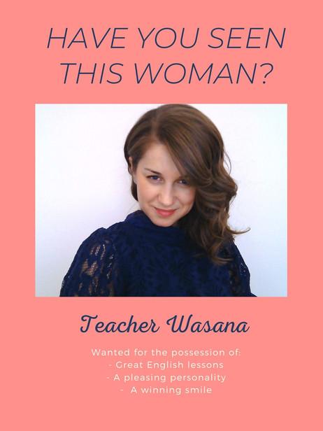 Love being Teacher Wasana... :)