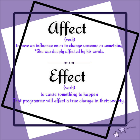 Only one letter makes a difference