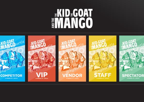 Mango 3 Badge Design