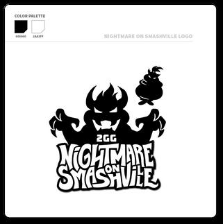 2GG Nightmare on Smashville Logo