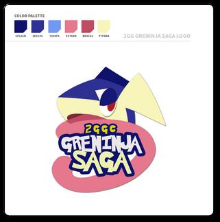 2GG Greninja Saga Logo