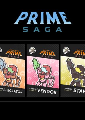 2GG Prime Saga Badge Design