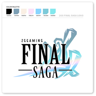 2GG Final Saga Logo