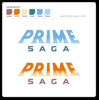 2GG Prime Saga Logo