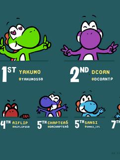 Tiny Yoshi Top 8