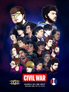 2GG Civil War Poster
