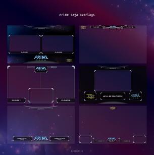 2GG Prime Saga Overlays