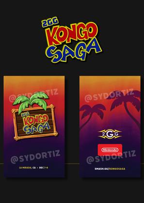 Kongo Saga Badge Design