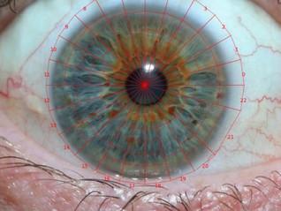 Unique eye sketch