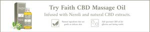 Faith CBD Massage Oil with Neroli