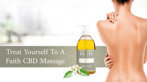 Faith CBD Massage Oil