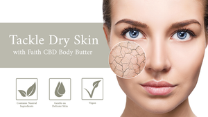 faith cbd body butter dry skin moisturiser