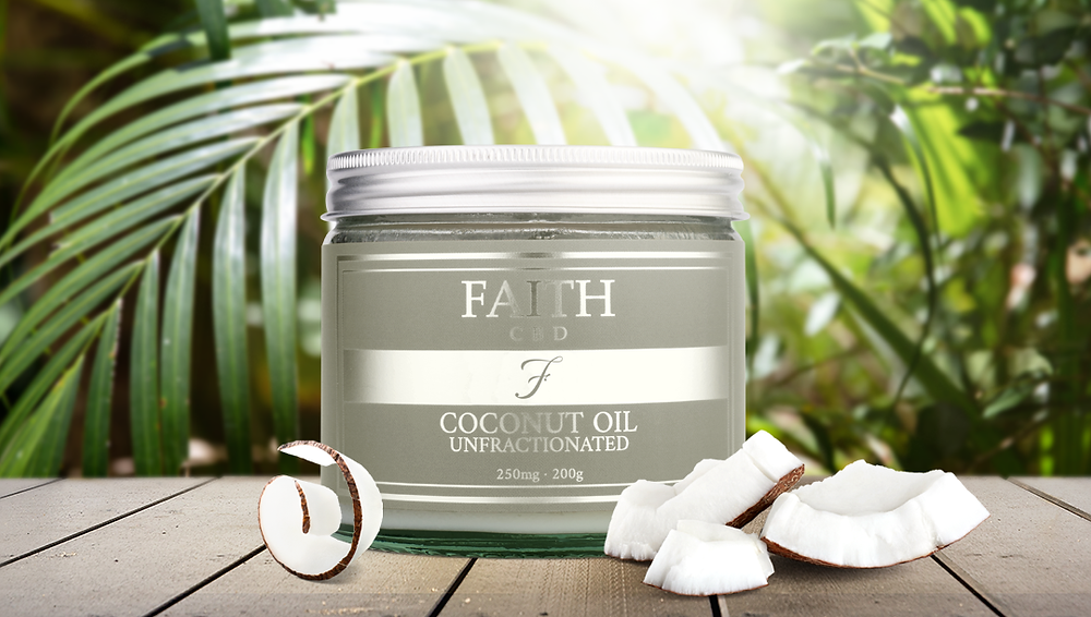 Faith CBD skincare wellness products. Anxiety and pain relief, stress reduction.