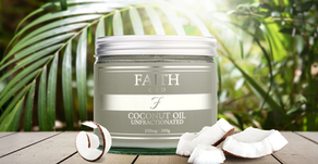 The surprising benefits of  Faith CBD Coconut Oil.