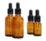 10ml 30ml glass dropper bottles with pipette for CBD tincture.