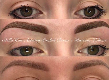 DEAR CLIENTS. IF YOUR BROWS TURNING GRAY AND OTHER HEALING CONUNDRUMS IN PERMANENT COSMETICS.