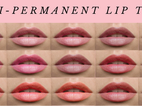 9 Facts About Semi- Permeant Lip Tint Tattoo