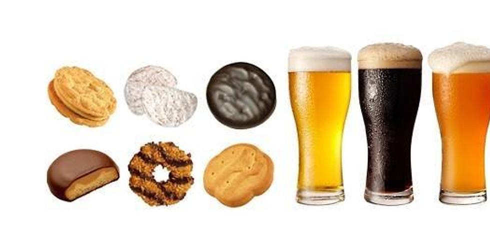 Beer & Girl Scout Cookie Pairing