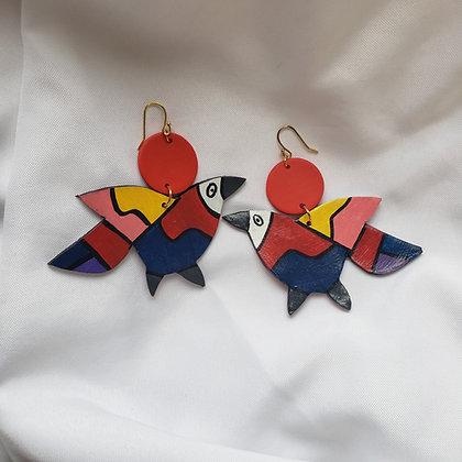 Pajaro Earrings