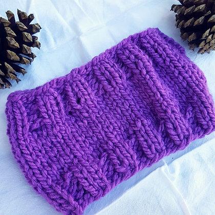 Basic Knitted Earwarmer