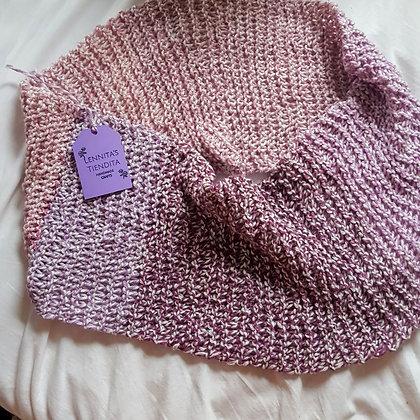 Pretty in Purple Infinity Scarf