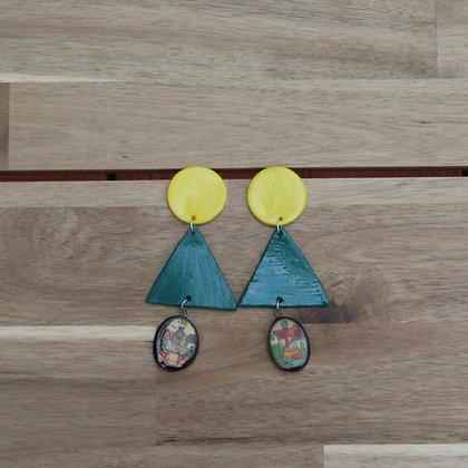 Triangle Copinol Earrings