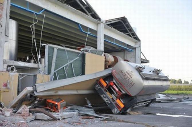 Miglioramento sismico dei capannoni prefabbricati.