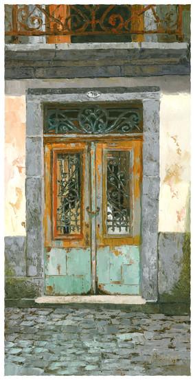 The old door, Porto