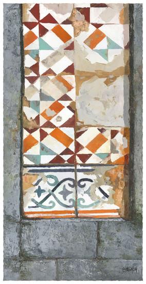Tipical tiles,Porto
