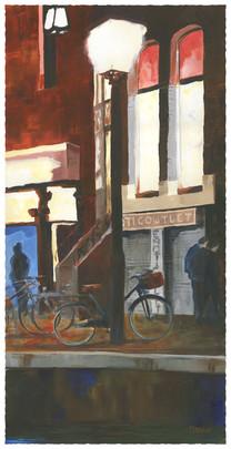 Still closed,Amsterdam red district