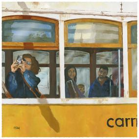 The American tourist, Lisbon tram