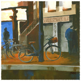 Still closed, Amsterdam Red district