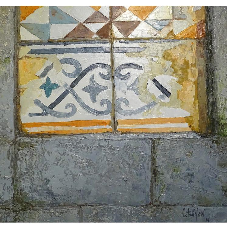 Tradicional tiles in Porto