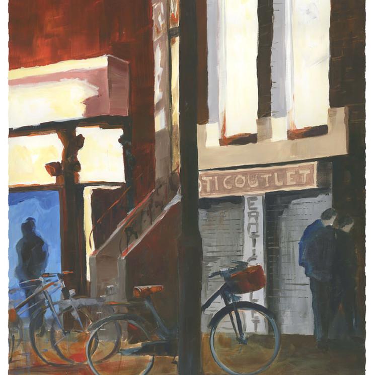 Still closed, Amsterdam Red distric