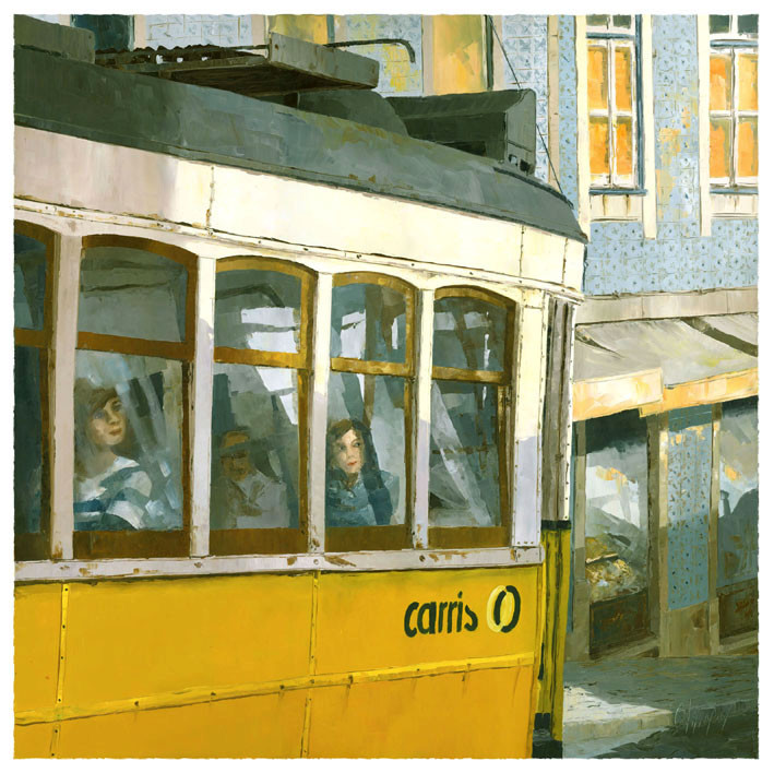 28 tram passing by