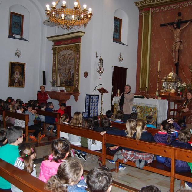 catequesis en la capilla