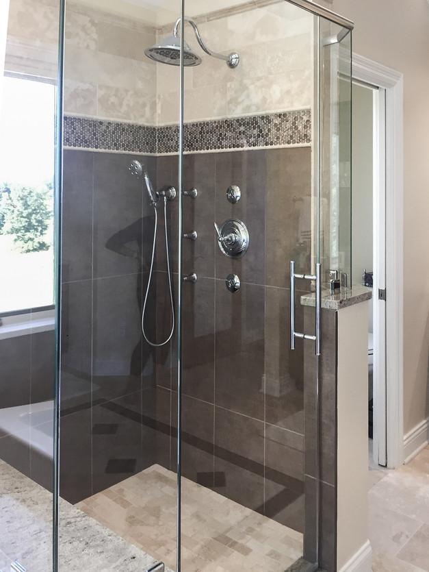 Cobblestone Master Bath