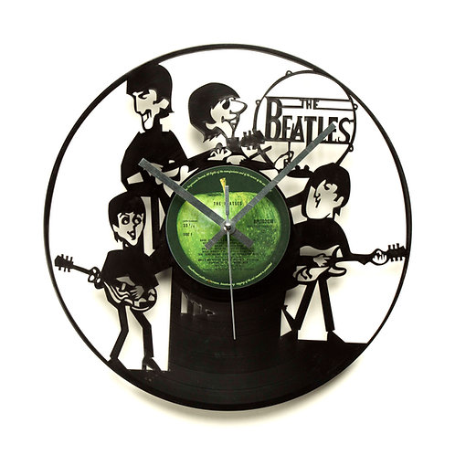 Beatles Cartoon Clock