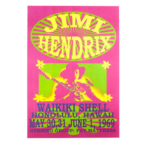 Jimmi Hendrix live in Hawaii