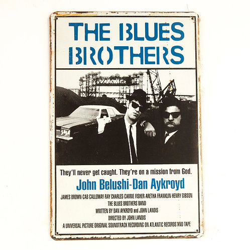 The Blues Brothers Tin Sign