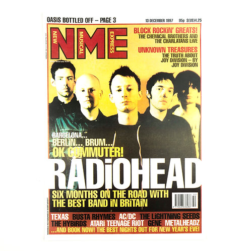 Radiohead NME Poster