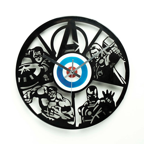 Avengers Clock
