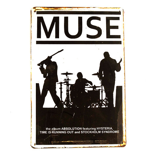 Muse Tin Plate