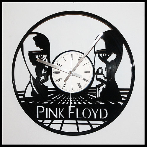 """Pink Floyd's """"The Division Bell"""" Cut Vinyl Clock"""