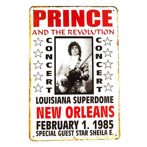 Prince Tin Sign