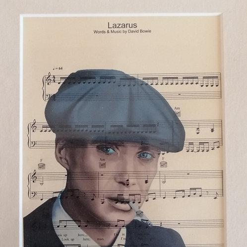 Peaky Blinders Sheet Music Print