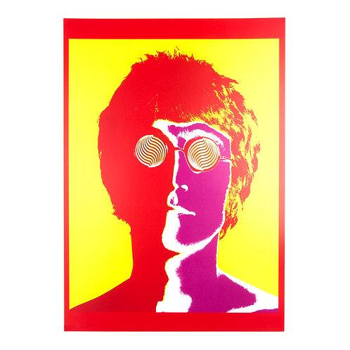 John Lennon Psychedelic Poster (1 of 4)