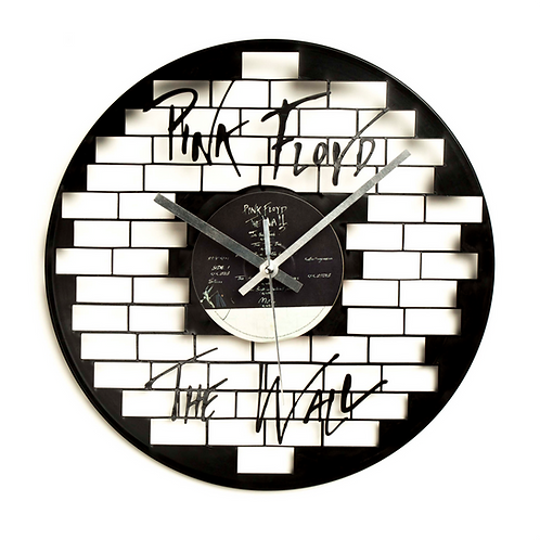 "Pink Floyd's ""The Wall"" Cut Vinyl Clock"