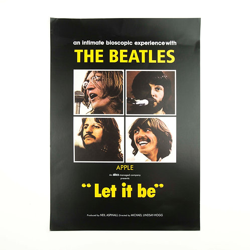 Beatles Let it be Poster