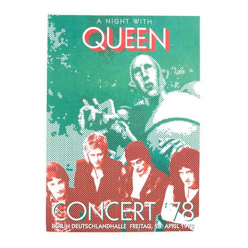 Queen LIve in concert |Poster